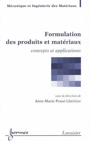 Formulation des produits et matériaux - hermès / lavoisier - 9782746223271 -