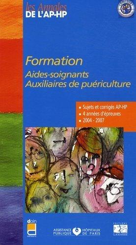 Formation aides-soignants Auxiliaires de puériculture - doin / ap-hp / lamarre - 9782757302200 -