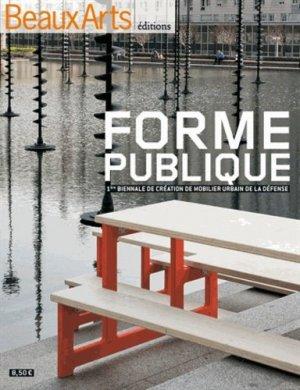 Forme publique - beaux arts - 9782842789510 -