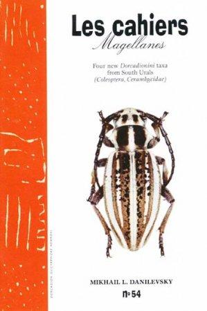 Four New Dorcadionini Taxa from South Urals - magellanes - 9782911545825 -