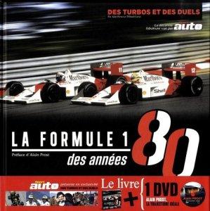 Formule 1 des années 80. Des turbos et des duels, avec 1 DVD - GM éditions - 9791092730371 -