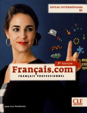 Français.com niveau intermédiaire B1 - Nathan - 9782090386851 -