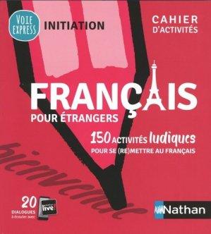 Francais pour étrangers - nathan - 9782091653082 -