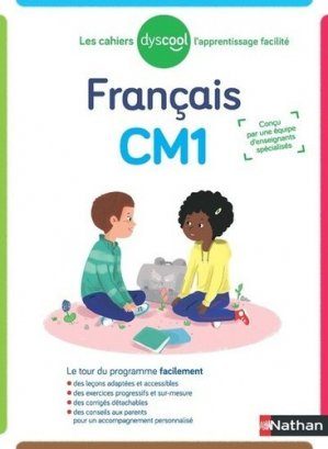 Français CM1 Les cahiers Dyscool - Nathan - 9782091933672