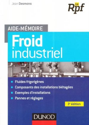 Froid industriel - dunod - 9782100709434 -
