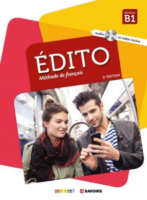 Français langue étrangère Edito 2e Ed. - didier - 9782278087730 -