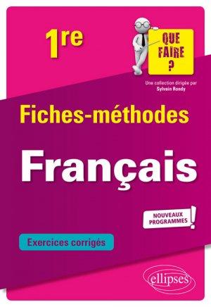 Français 1re - ellipses - 9782340031500 -