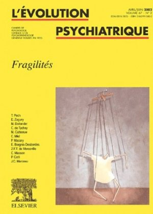 Fragilités - elsevier / masson - 9782842993801 -