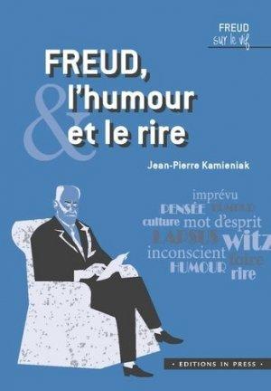 Freud, l'humour et le rire - In Press - 9782848356808 -