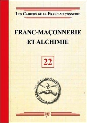 Franc-maçonnerie et alchimie -  oxus editions - 9782848981741 -