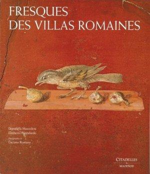 Fresques des villas romaines - citadelles et mazenod - 9782850882043 -