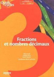 Fractions et nombres décimaux - Canopé - CRDP de Lille - 9782866235659 -