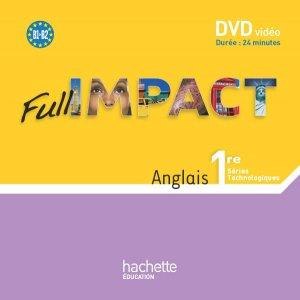 Full Impact 1res séries technologiques - DVD - Ed.2011 - hachette - 3095561959437 -