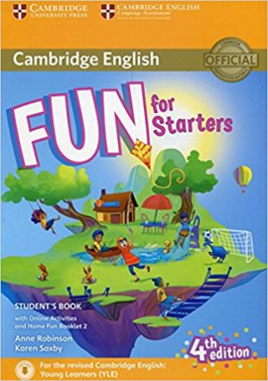 Fun for Starters - Student's Book with Online Activities with Audio and Home Fun Booklet 2 - cambridge - 9781316617465 -