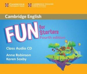 Fun for Starters - Class Audio CD - cambridge - 9781316617519 -