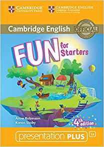 Fun for Starters - Presentation Plus DVD-ROM - cambridge - 9781316617526 -