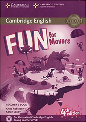 Fun for Movers - Teacher's Book with Downloadable Audio - cambridge - 9781316617557 -