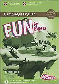 Fun for Flyers - Teacher's Book with Downloadable Audio - cambridge - 9781316617601 -