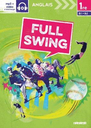 Full Swing 1re : Workbook - Version Papier - didier - 9782278086108 -