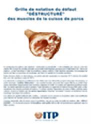 """Grille de notation du défaut """"déstructuré"""" des muscles de la cuisse des porcs  - itp - 9782859690024 -"""