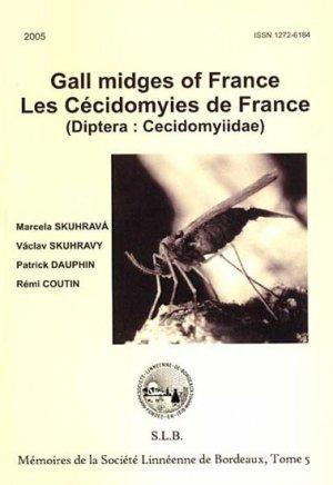 Gall midges of France - Les Cécidomyies de France. - societe linneene de bordeaux - 2223587877195 -