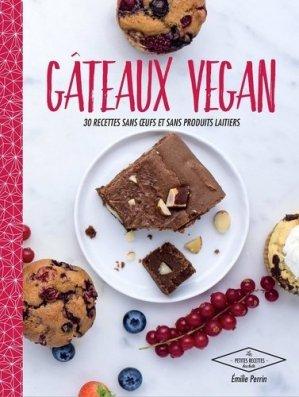 Gâteaux vegan - hachette - 9782011356369 -
