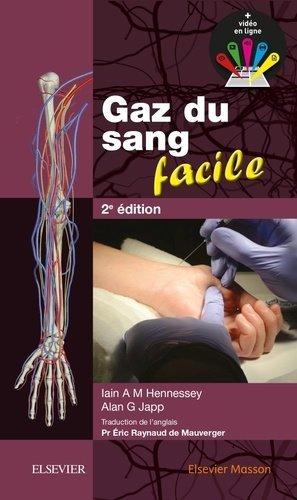 Gaz du sang facile - elsevier / masson - 9782294750380 -