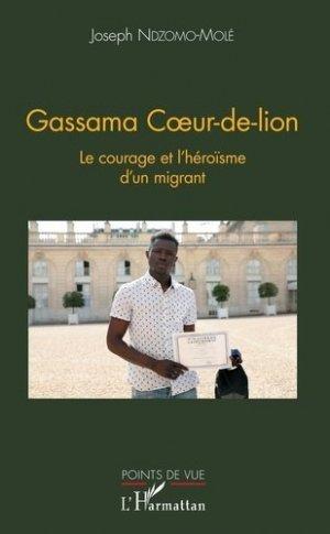 Gassama Coeur-de-lion - l'harmattan - 9782343160719 -