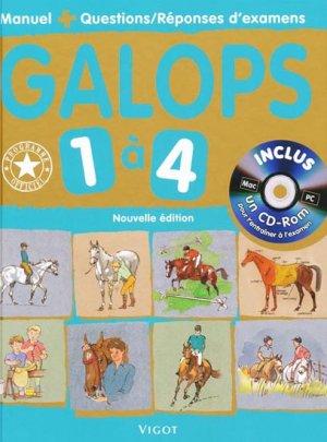 Galops 1 à 4 - vigot - 9782711419470 -