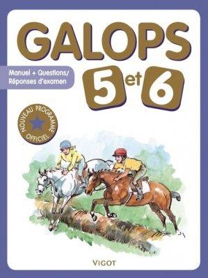 Galops 5 et 6 - vigot - 9782711423132 -