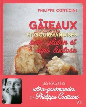 Gâteaux sans gluten et sans lactose - first editions - 9782754085342 -