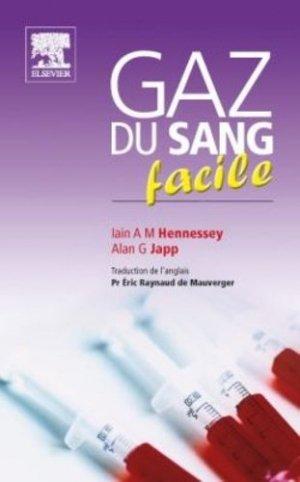 Gaz du sang facile - elsevier / masson - 9782810101566 -
