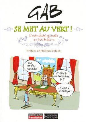 Gab se met au vert - france agricole - 9791090213135 -
