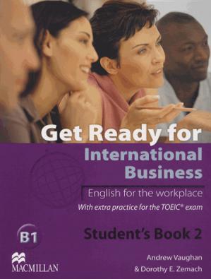 Get Ready For International Business 2 - macmillan - 9780230447912 -