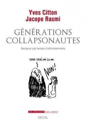 Générations collapsonautes - seuil - 9782021447408 -