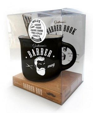 Gentlemen's barber box - Larousse - 9782035996114 -