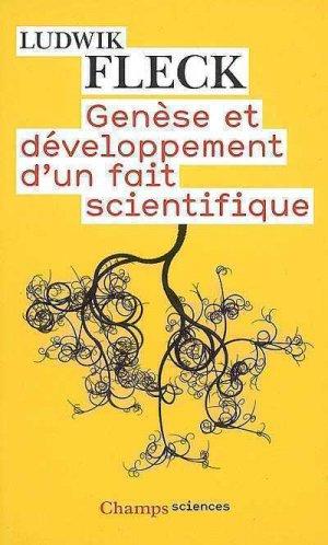 Genèse et développement d'un fait scientifique - flammarion - 9782081214835 -