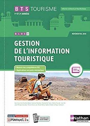 Gestion de l'information touristique BTS Tourisme 1re et 2ème années - Nathan - 9782091673226 -