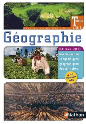 Géographie Tle L/ES/S - Nathan - 9782091728094 -