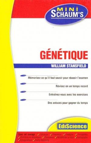 Génétique - édiscience - 9782100066544 -