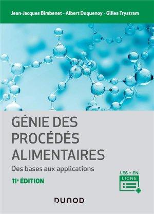 Génie des procédés alimentaires - Dunod - 9782100821884 -