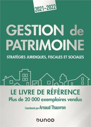 Gestion de patrimoine - Dunod - 9782100823628 -