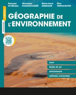 Géographie de l'environnement - armand colin - 9782200616304 -