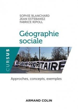 Géographie sociale - armand colin - 9782200627355 -