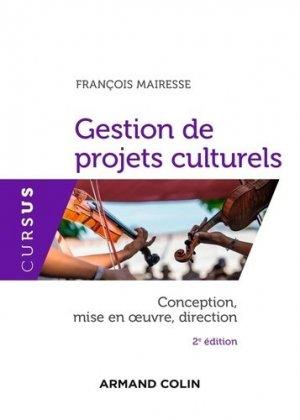Gestion de projets culturels - Armand Colin - 9782200628048 -