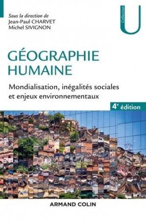 Géographie humaine - armand colin - 9782200628079 -