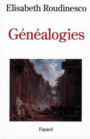Généalogies - Fayard - 9782213593210 -