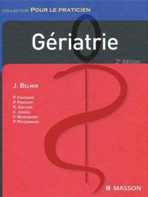 Gériatrie - elsevier / masson - 9782294702426 -