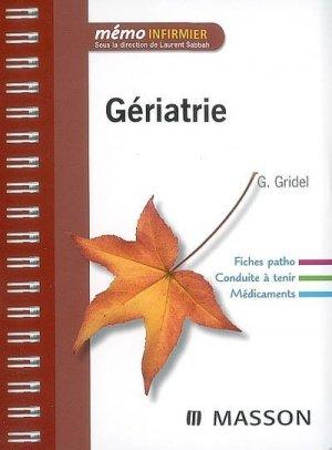 Gériatrie - elsevier / masson - 9782294704147 -