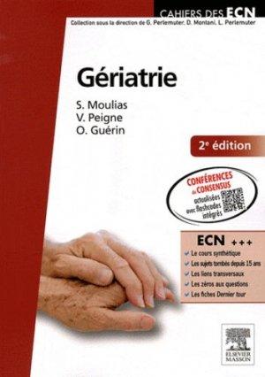 Gériatrie - elsevier / masson - 9782294710636 -